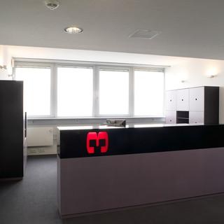 Empfangstheke Werbeagentur Köln