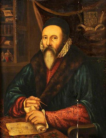 Magician John Dee