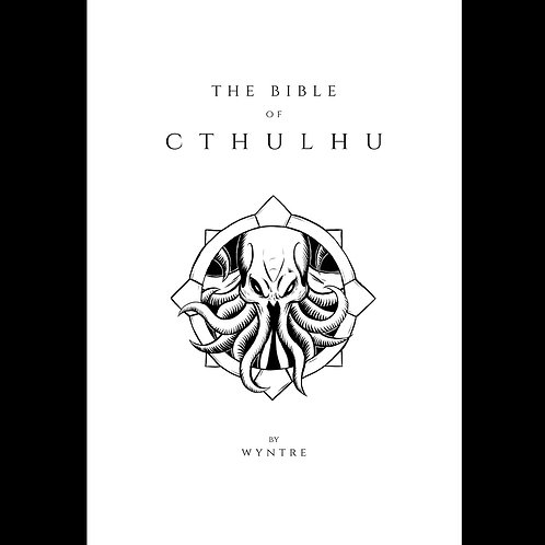 The Bible of Cthulhu (White)