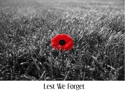 Armistice Day & Remembrance Day