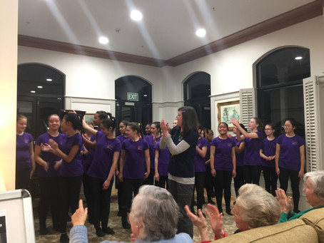 St Vincents Retirement Home Concert