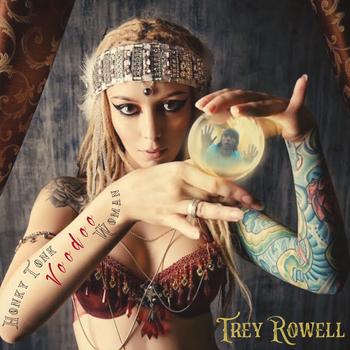 Cover Art for Trey's Single Honky Tonk Voodoo Woman