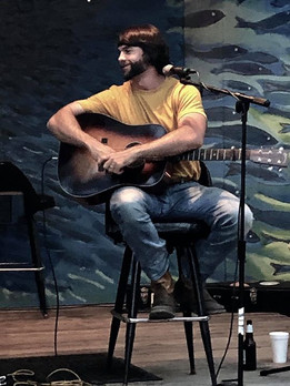 Trey at The Sandy Roots Songwriting Series