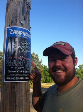 The Camphouse Poster 2013 with Drew Mcle
