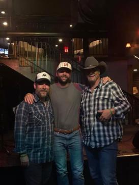 Trey with Tony Cobb and Jason Bishop