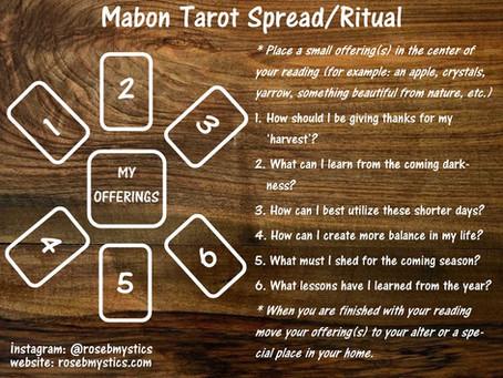 Mabon Tarot Spread/Ritual