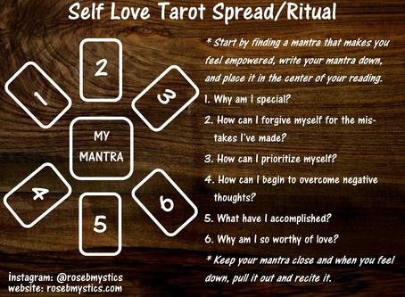 Self Love: Tarot Spread & Ritual