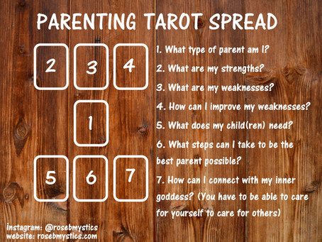 Parenting Tarot Spread