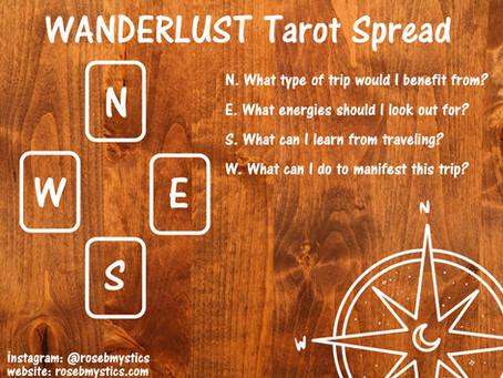 Wanderlust: Tarot Spread