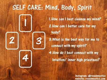 Self Care: Mind, Body, Spirit