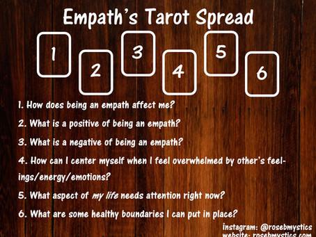 Empath's Tarot Spread