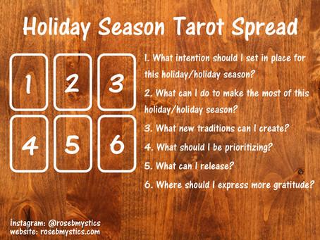 Holiday Season: Tarot Spread