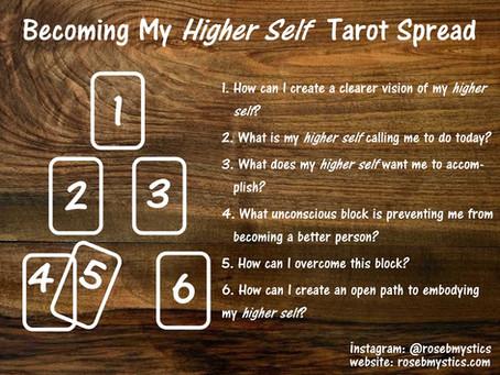 Becoming My Higher Self Tarot Spread