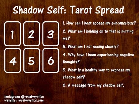 Shadow Self Tarot Spread