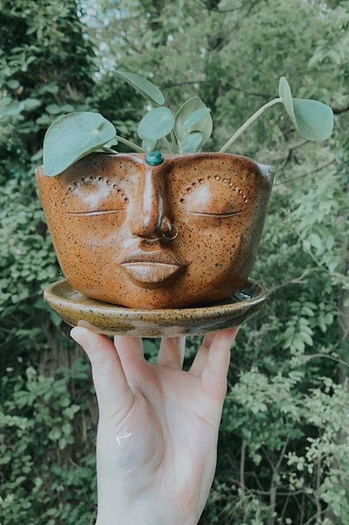 Goddess of Luck Planter