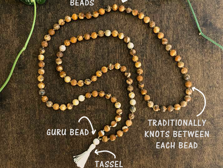 Makings of a Mala: A Spiritually Expansive Tool