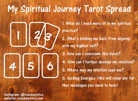 My Spiritual Journey: Tarot Spread