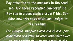 Tarot Tip: Numbers in Tarot