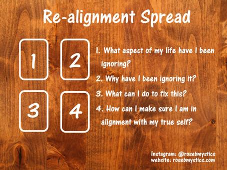 Re-Alignment: Tarot Spread