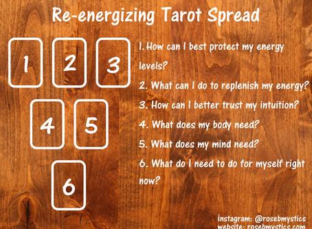 Re-energizing: Tarot Spread