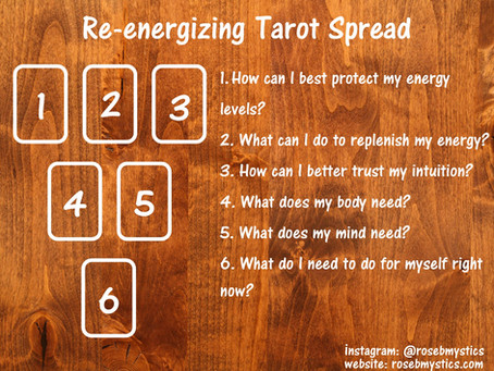 Re-energizing: Tarot Spread