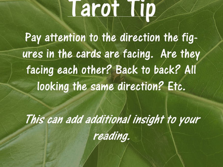 Tarot Tip: Figures in the Cards