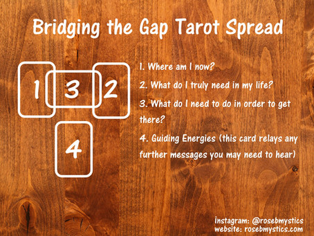Bridging the Gap: Tarot Spread
