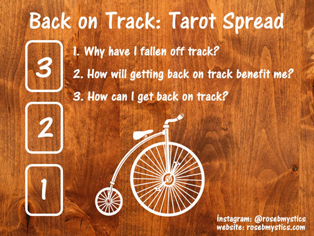 Back on Track Tarot Spread