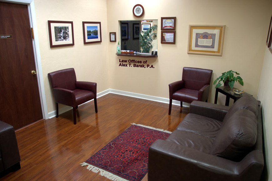 immigration lawyer Entrance Waiting Room