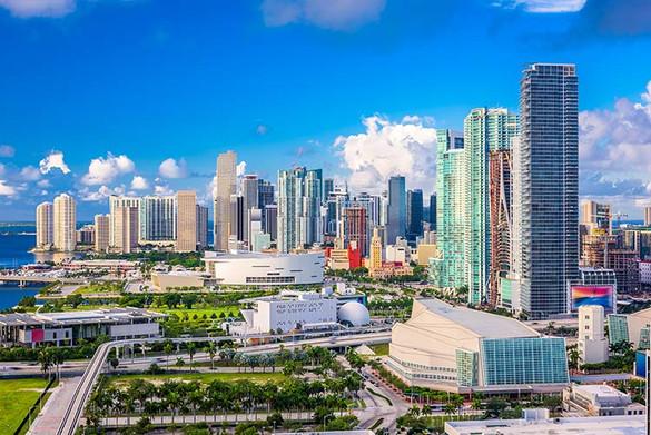 Miami, Florida, USA downtown
