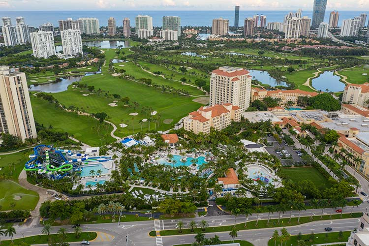 Aerial photo of City of Aventura, Florida
