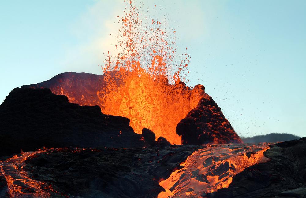 Volcanoe eruption