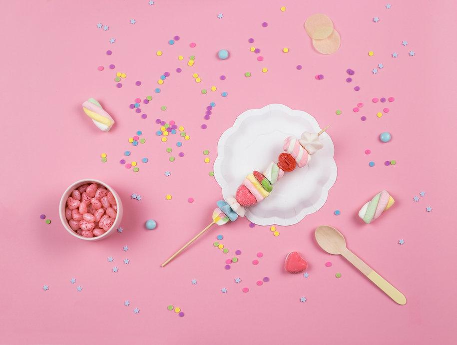 Süßigkeit Bratspieß