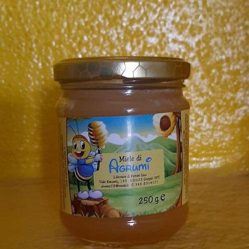 Miele Artigianale di Agrumi di Sardegna  250 gr
