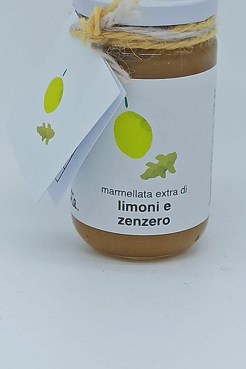 Marmellata Artigianale Limoni e Zenzero