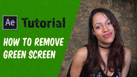 After Effects Tutorial: Remove Green Screen