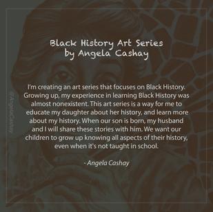 Alma Woodsey Thomas: Black History Art Series By Angela Cashay
