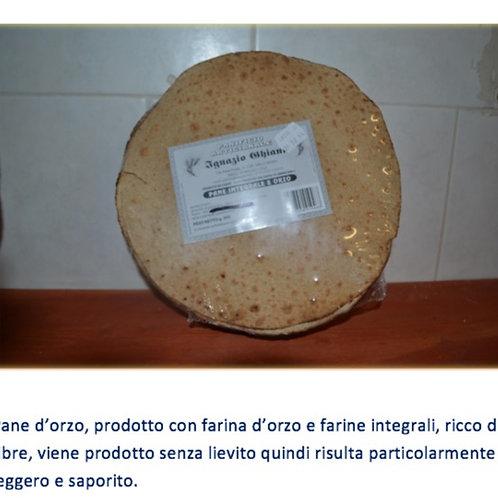 PANE INTEGRALE D'ORZO 400G