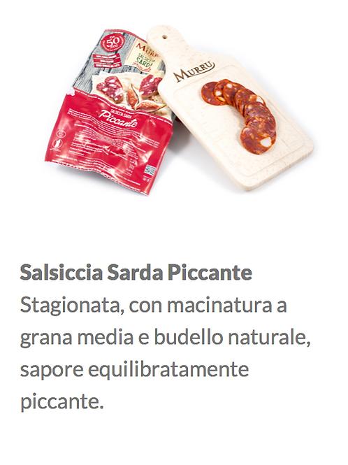 Salsiccia piquante Gr.420
