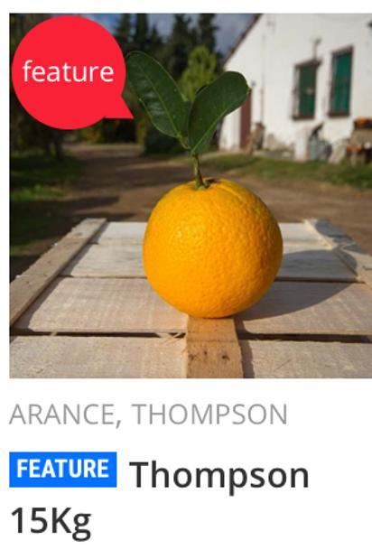 Arance Thompson di Muravera