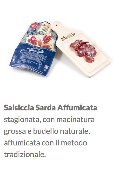 salsiccia affumicata Gr.420