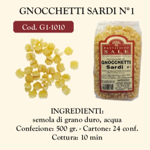 Gnocchetti Sardi Nø 1 500 gr