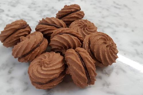 Frollini al cacao e nocciola 250g