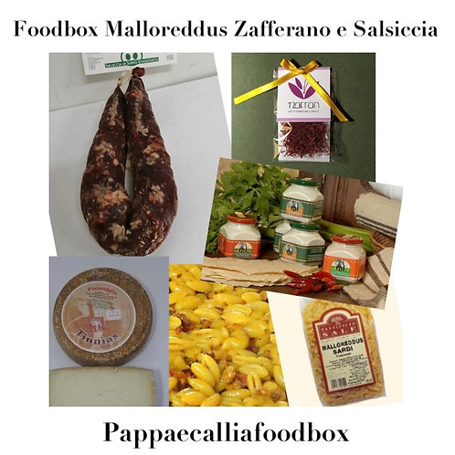 Foodbox Malloreddus Zafferano e Salsiccia