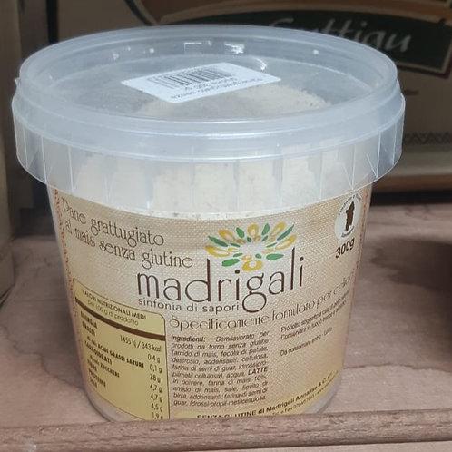 Pane Grattugiato di Mais Senza Glutine  Madrigali 300Gr