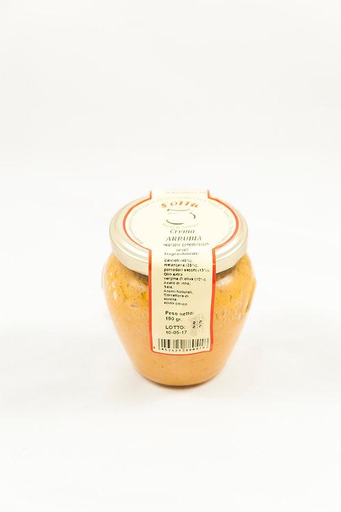 CREMA ARRUBIA (melanzane, carciofi e pomodori secchi)