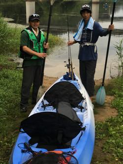 人生初釣りのパイセンに釣らせるミッション