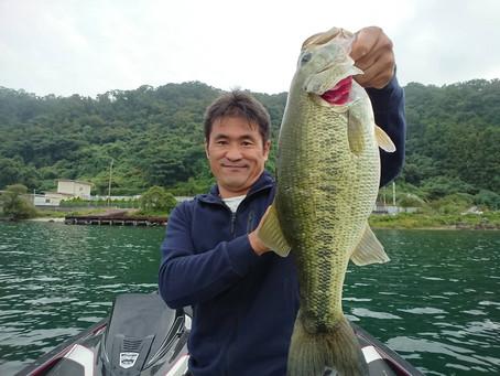 ヒデ井上!琵琶湖っ!