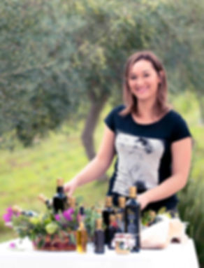 Rosy Portanova, l'olio come essenza di vita