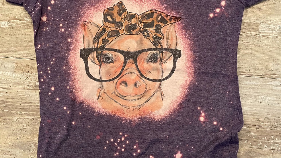 Ladies Junior Slim Fit Pig Sublimation T-Shirt
